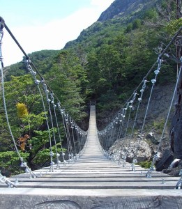 Bridge over the First Quebrada