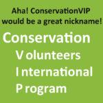 ConservationVIP is born