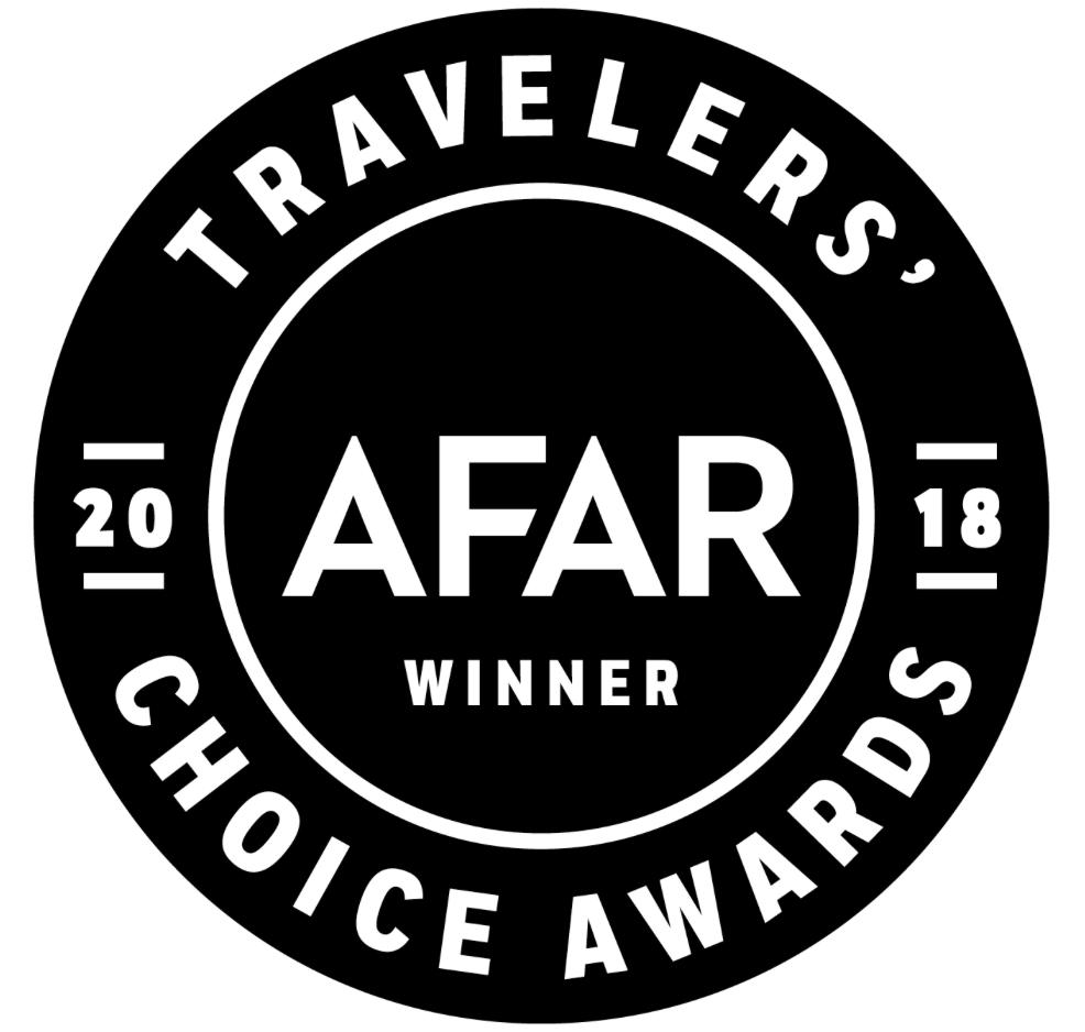 AFAR 2018 Winner