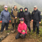 Volunteers with Park Managers in Patagonia